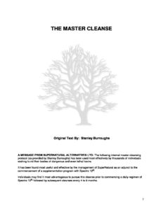 Cleanse master pdf complete the