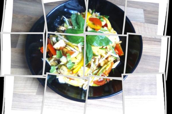 Sprouts Mushroom Salad