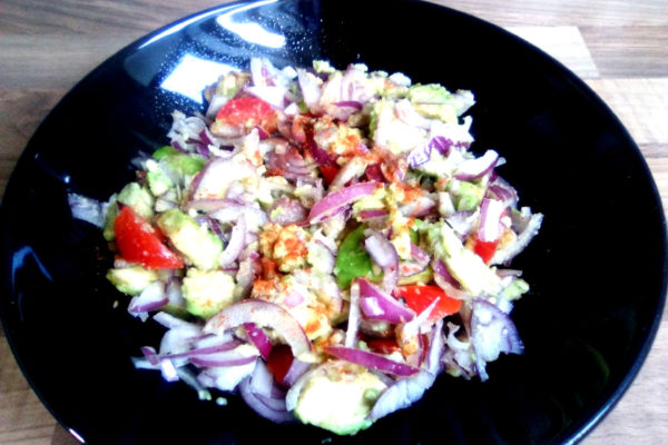 Onion Salad by ital is vital