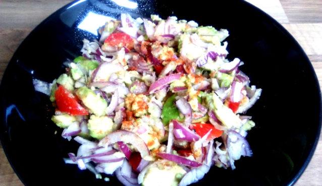 Onion Salad by ital is vital