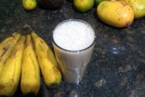 Coconut Banana Ginger Shake